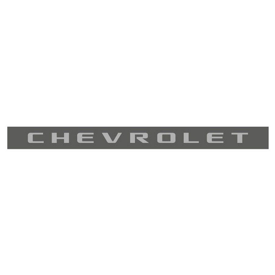 Adesivo Faixa Chevrolet Tampa Traseira S10 Blazer 2006/