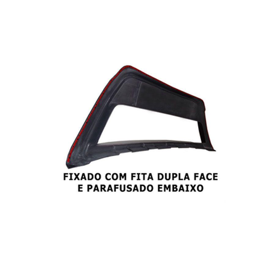 Spoiler Dianteiro Sandero 07 Até 2011 Sport Road Tg Poli