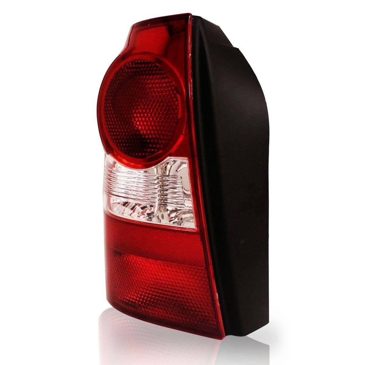Lanterna Traseira Parati G4 06 07 08 09 10 bicolor ré cristal