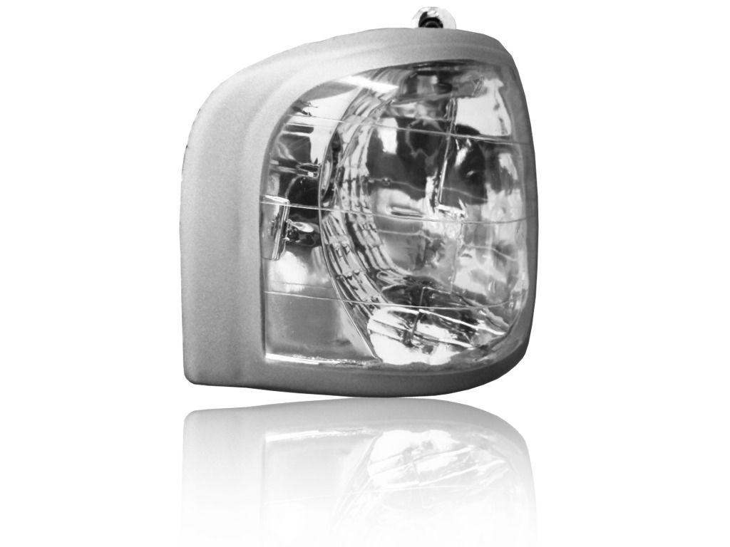 Lanterna Dianteira Escort Verona 87 Até 92 Cristal Tuning