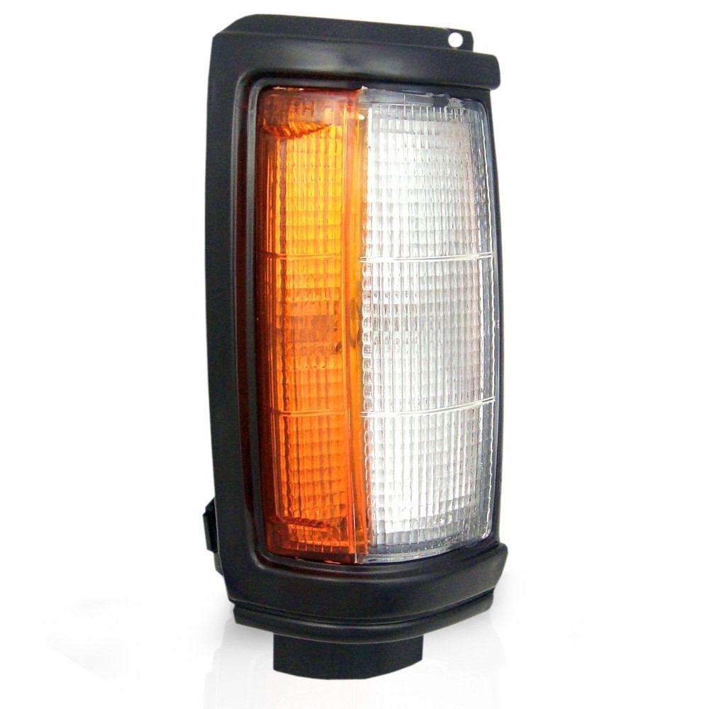 Lanterna Dianteira Pisca L200  93 94 95 96 97 98 99 00 01 02 03 aro preto