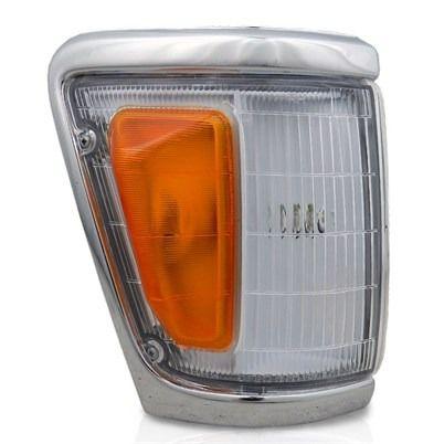 Lanterna Dianteira Pisca Hilux 4x4 92 A 00 Aro Cromado