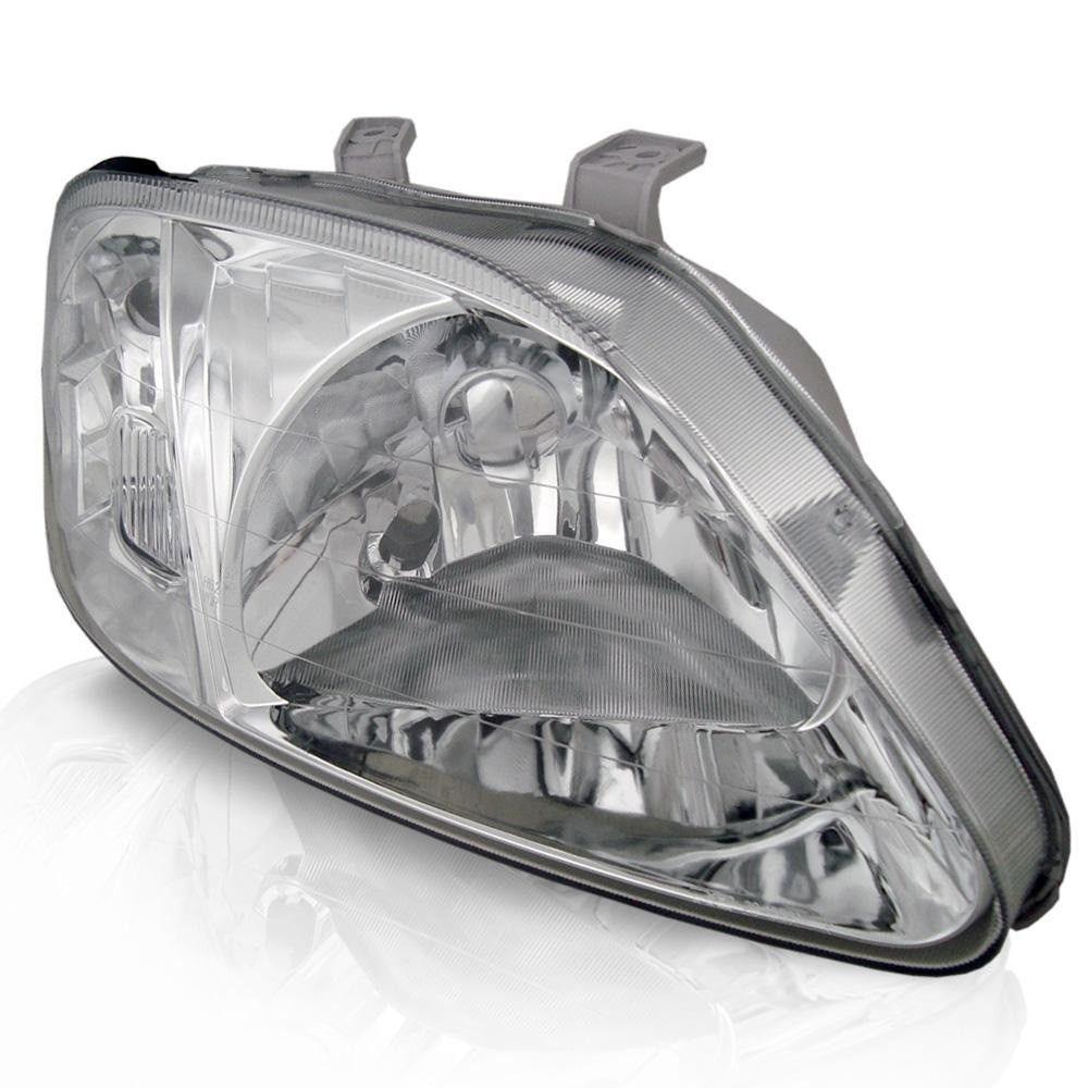 Farol Honda Civic 98 99 00 pisca cristal