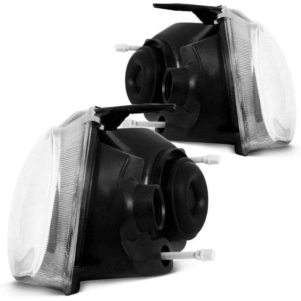 Par Farol Corsa G1 96-02classic /10 Mascara Negra F.simples