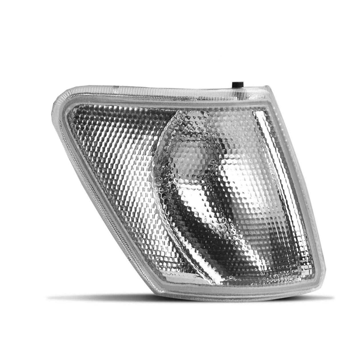 Lanterna dianteira Pisca Fiesta 93 94 95 Branca cristal