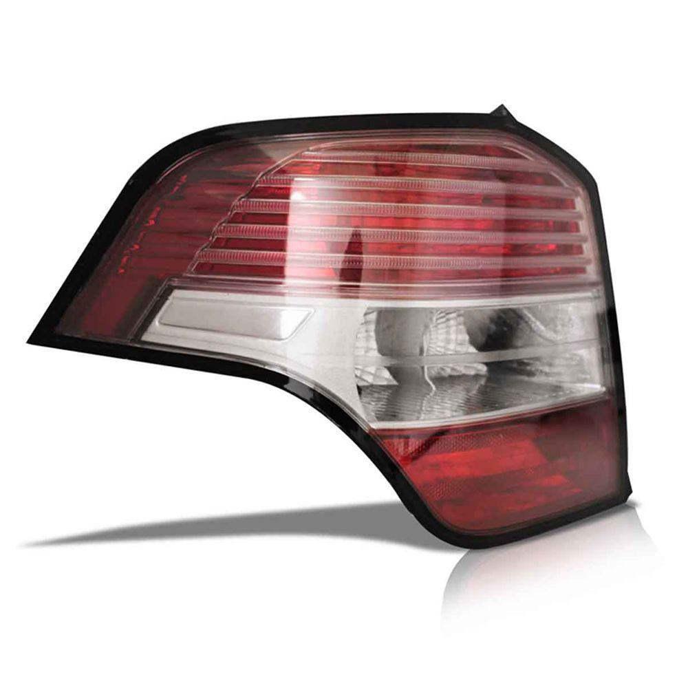 Lanterna Traseira Agile 10 11 12 13 14 15 Bicolor Cristal