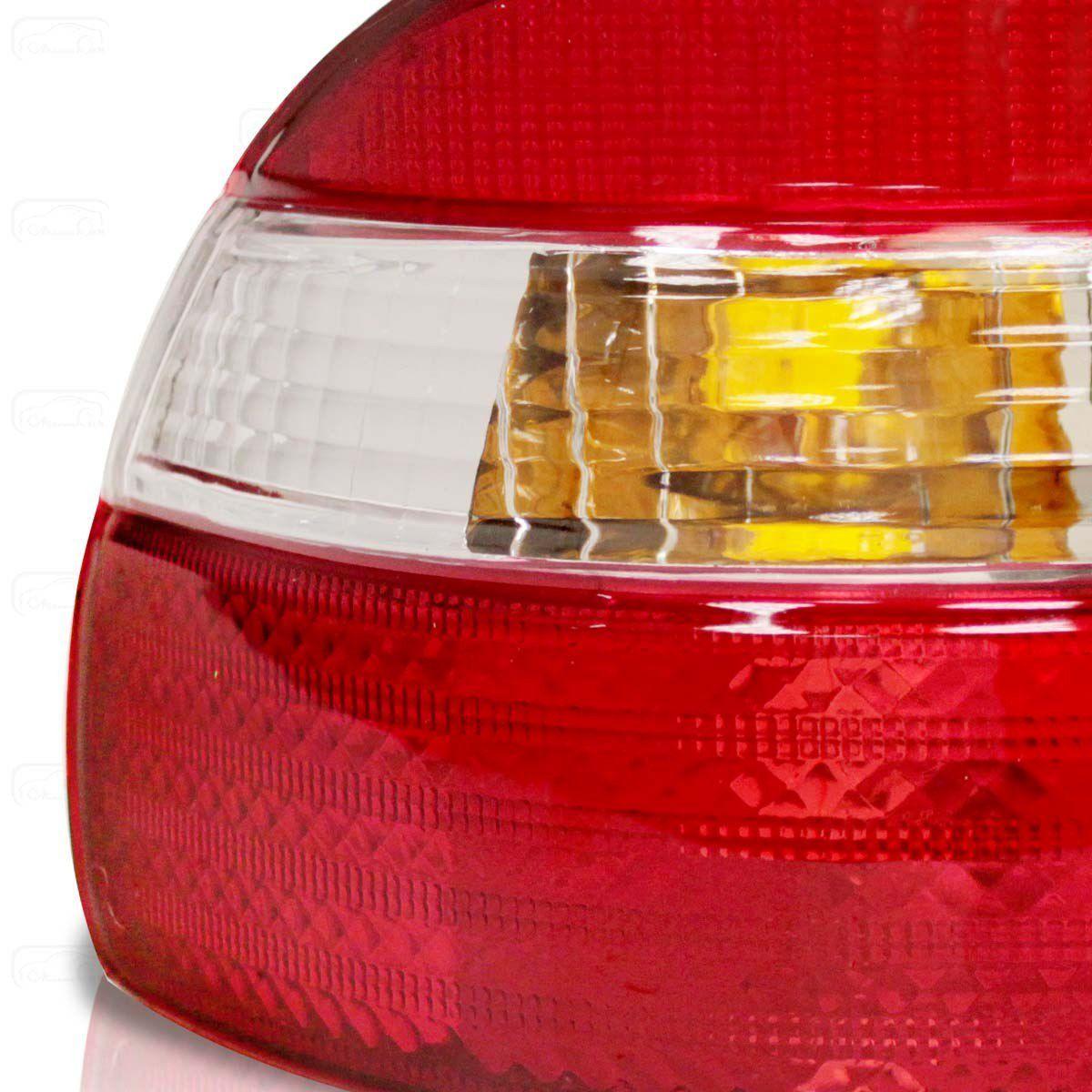 Lanterna Traseira Corolla 98 99 2000 2001 2002 Bicolor Canto