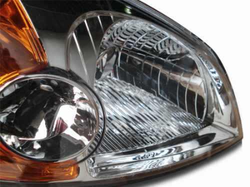 Farol Honda Civic 2001 2002 2003 Cromado Pisca Ambar