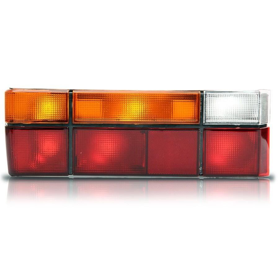 Lanterna Traseira Gol G1 87-95 Quadrado  Tricolor