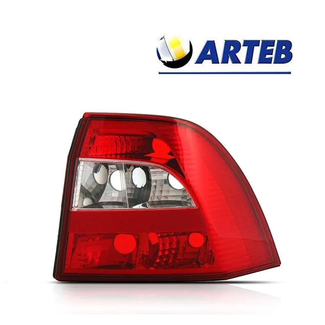Lanterna Traseira Vectra 00 a 05 Re Cristal