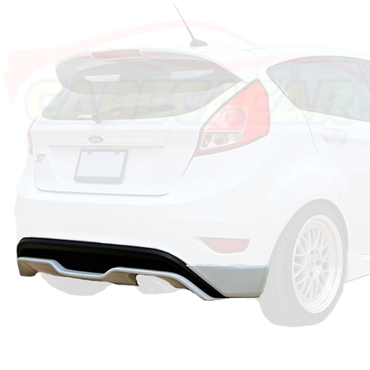 spoiler traseiro New Fiesta 13 14 15 16 17  tuning