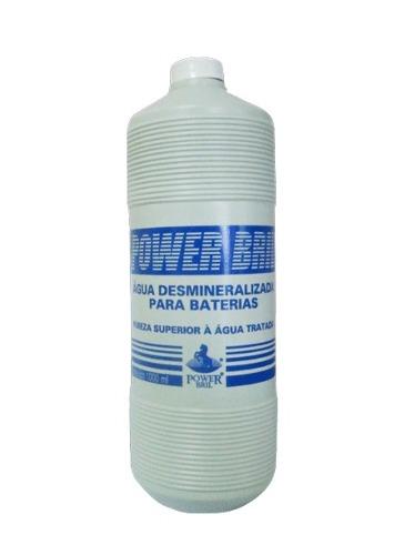 Água Desmineralizada Destilada Para Bateria 1 Litro