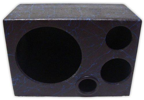 Caixa De Som Trio Sub 12 Driver Tweeter C/divisória Mdf 18mm
