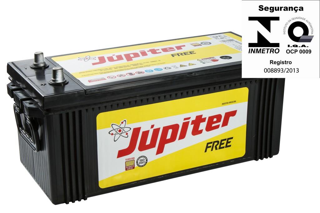 Bateria Automotiva Júpiter 170ah 12v Selada Com Prata