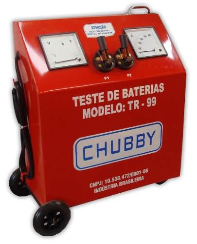 Testador De Bateria Chubby Tr-99