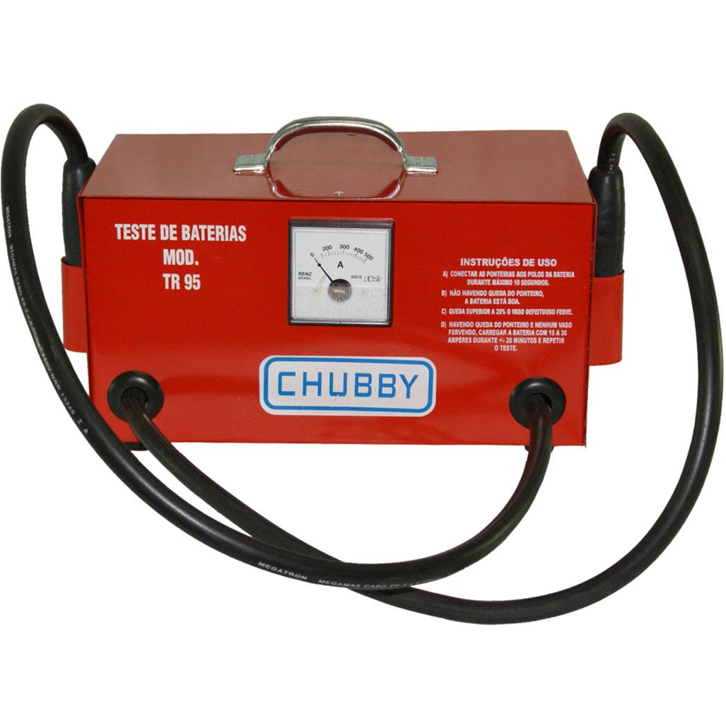 Testador De Bateria Tr-95 Chubby Análise Da Bateria Portátil