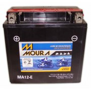 Bateria Moto Moura 12ah Ytx14-bs Ma12-e Gs650 Comet Mirage