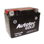 Bateria de Moto Autotec Ytx4l-bs 3ah 12v Selada