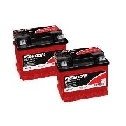 Kit 2 Bateria Estacionária Freedom Df700 50ah Nobreak Alarme