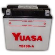 Bateria de Moto Yuasa Yb16b-a Moto 16ah 12v
