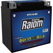 Bateria de Moto Raiom Ytx16-bs 14ah 12v Selada (Rtx16-bs)