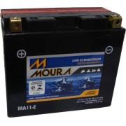 Bateria de Moto Moura Yt12b-bs 11ah 12v Selada (Ma11-E)