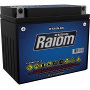 Bateria de Moto Raiom Rtx8n-bs 8ah 12v Selada