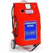 Carregador de Bateria Chubby 50ah 12v com Auxiliar De Partida