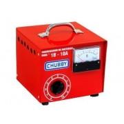 Carregador de Bateria Chubby 10ah 12v com Amperímetro Analógico
