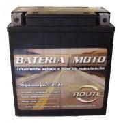 Bateria Moto Route Xtz18s 18ah 12v Honda Varadero Xl1000v (YTX20CH-BS)