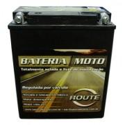 Bateria Moto Route Ytx14a-bs 12ah 12v Honda Cb Vf700c 400 (YB12A-A)