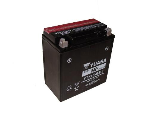 Bateria de Moto Yuasa Ytx16-bs-1 14ah 12v Selada