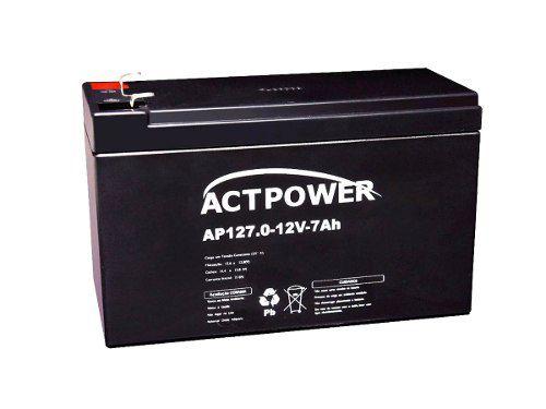 Kit 4 Bateria Gel 12v 7ah Nobreak Alarme Energia Solar
