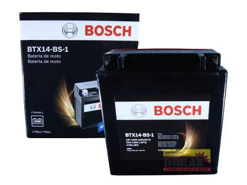 Bateria Moto Bosch Btx15-bs1 15ah 12v Suzuki 1500 Intruder (YTX16-BS-1)