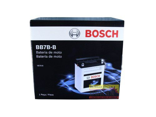 Bateria Moto Bosch Bb7b-b 7ah 12v Honda Cbx Cbr Yamaha Tdm