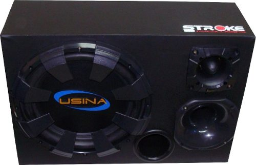 Kit Caixa Trio Usina 550w Rms + Módulo Soundigital Sd400.3d
