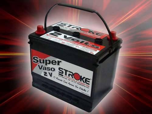 Vaso Auxiliar 2 Volts (super) Stroke Power. Ideal Para Som.