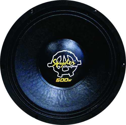Alto Falante Woofer Spyder Kaos 600wrms 12 Trio Pancadão