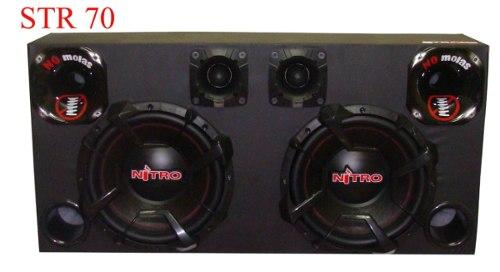 Caixa Som Automotivo Nitro G5 1800w Rms-sub12+tweeter+driver