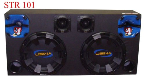 Caixa Som Automotivo Usina 1100 Wrms - Sub12+tweeter+driver
