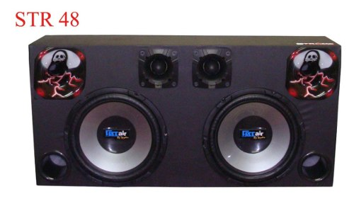Caixa Som Automotivo Free Air 540wrms - Sub12+tweeter+driver