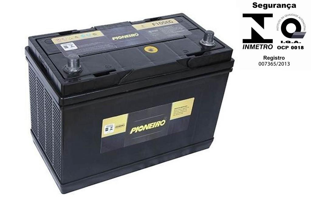 Bateria Automotiva Pioneiro 110ah 12v Selada Bongo Discovery