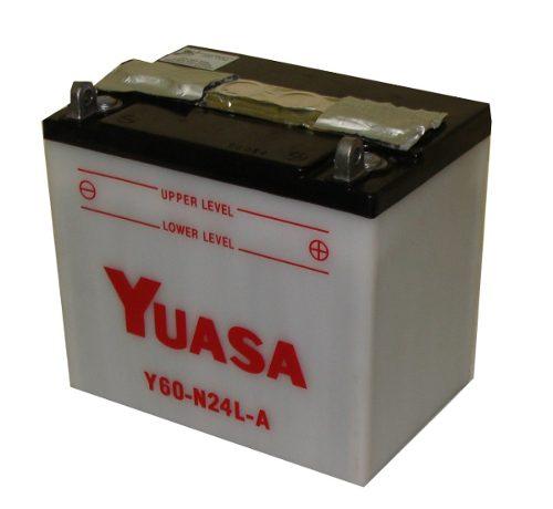 Bateria de Moto Yuasa Y60-n24l-a 28ah 12v