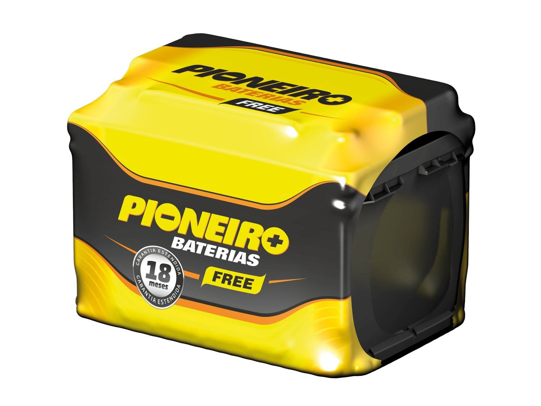 Bateria Automotiva Pioneiro 45ah 12v Selada