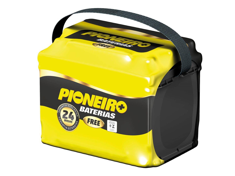 Bateria Automotiva Pioneiro 52ah 12v Selada Garantia 24 Meses Onix Spin Prisma Cerato