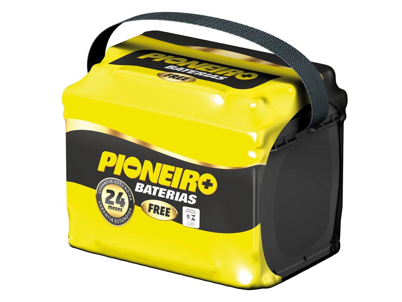 Bateria Automotiva Pioneiro 60ah 12v Selada Garantia 24 Meses Vectra  Picanto Linea Elantra b7f3dde74f3