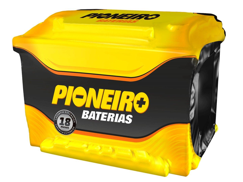 Bateria Automotiva Pioneiro 75ah 12v Selada A4 Ranger Megane Kompressor