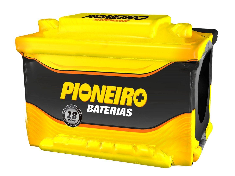 Bateria Automotiva Pioneiro 90ah 12v Selada Santa Fé Pajero Kyron