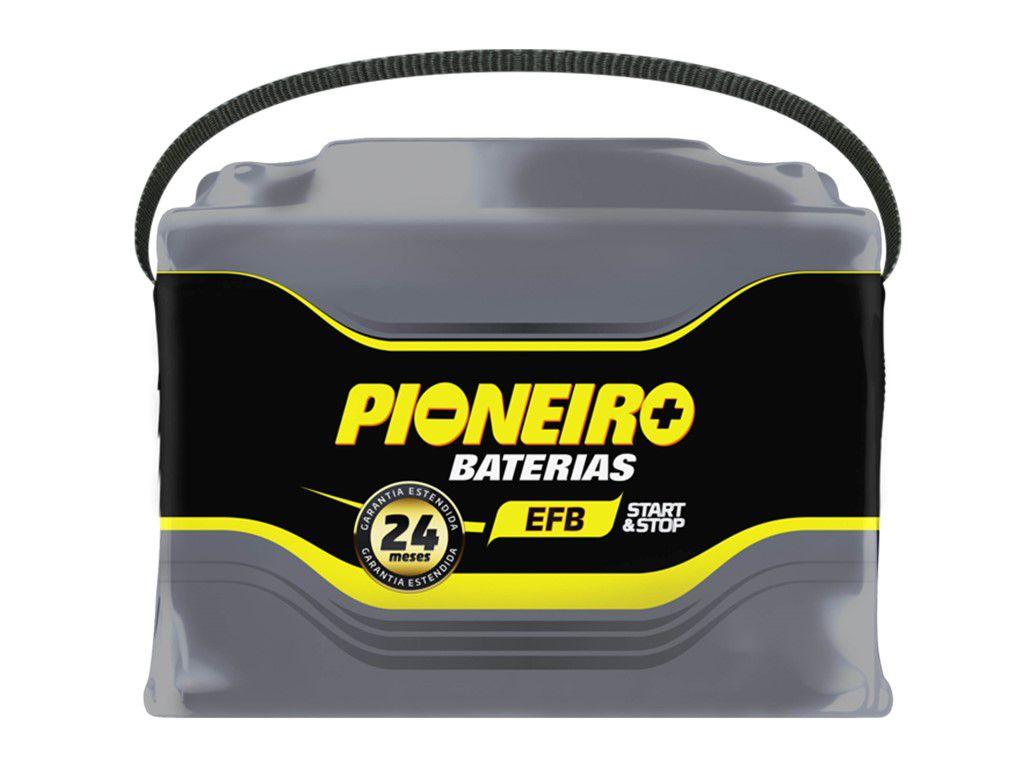 Bateria Automotiva Pioneiro 95ah 12v Selada Garantia 24 Meses de Garantia START/STOP EFB95D