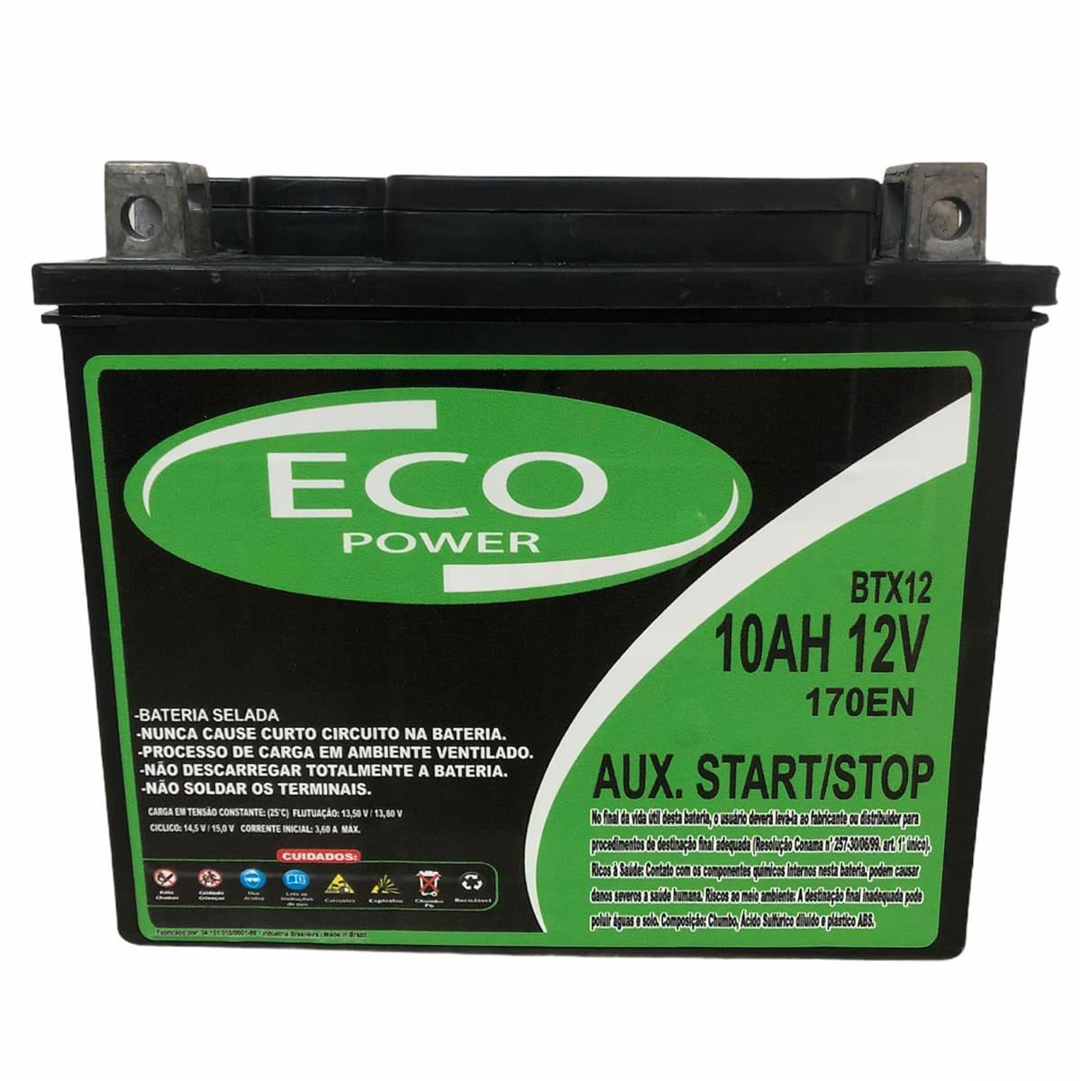 Bateria Auxiliar 10Ah 12v Arranque Start Stop Volvo